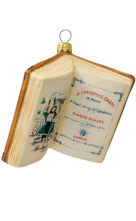 A Christmas Carol - The Book by Dickens