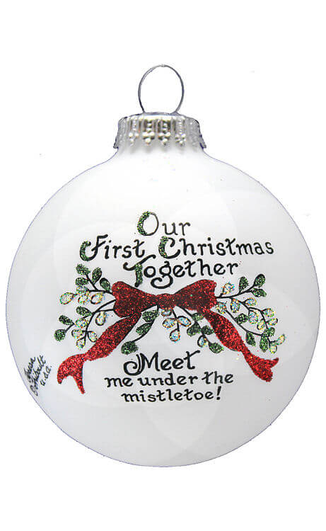 1st Christmas-Mistletoe