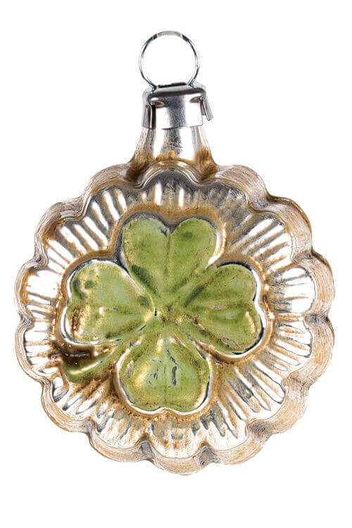 Mini Ornament Lucky Clover