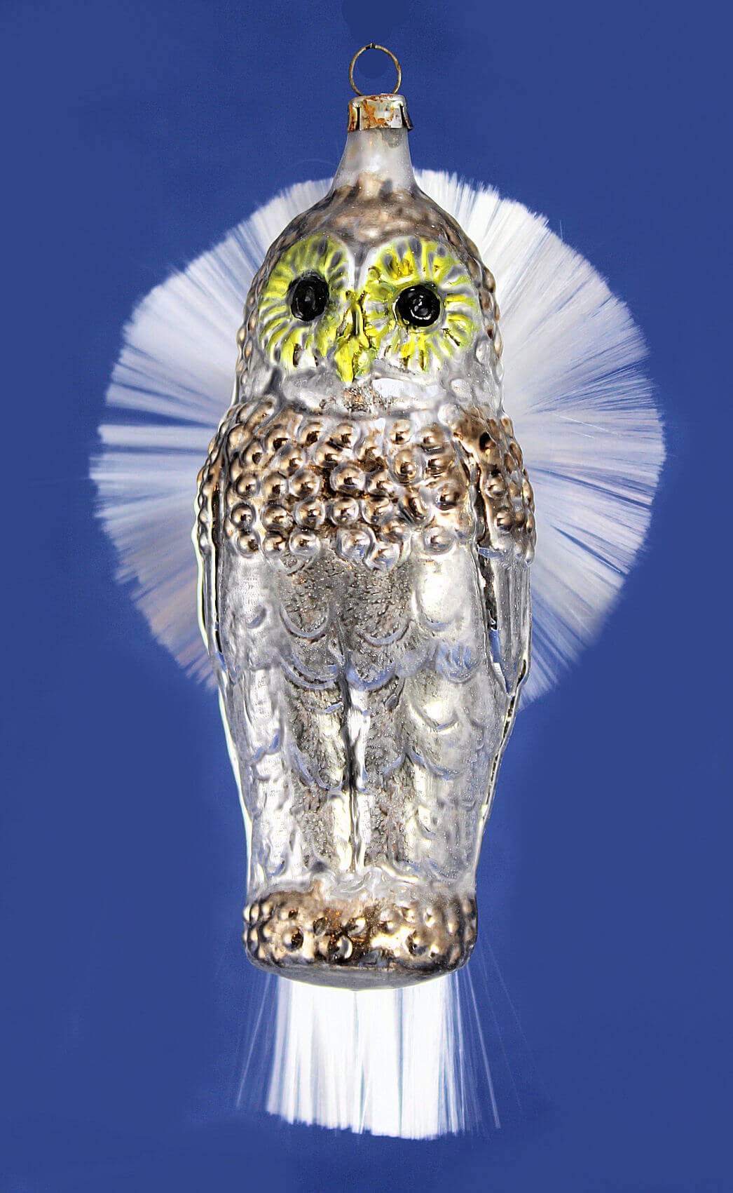 Owl w/Spun Glass Wings