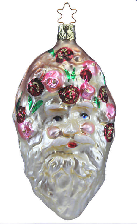 Father Christmas Head - Satin