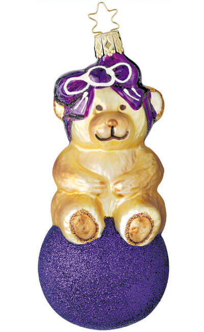Party Bear - Purple