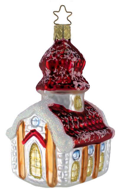 Inge Glas Santa Old St Nick 1-135-08 German Glass Christmas Ornament