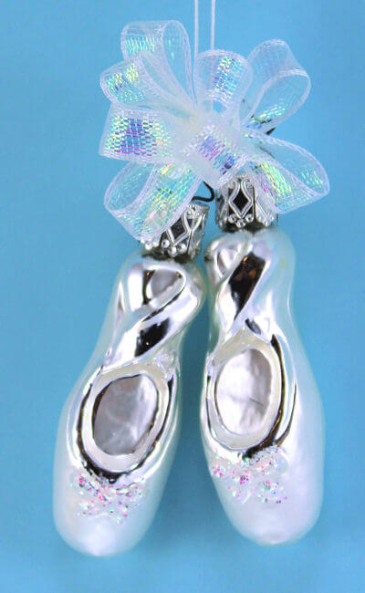 Simply Silver Slippers