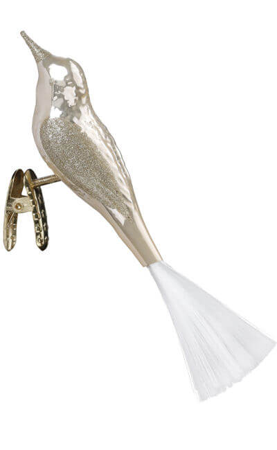 Bird, champagne pearl