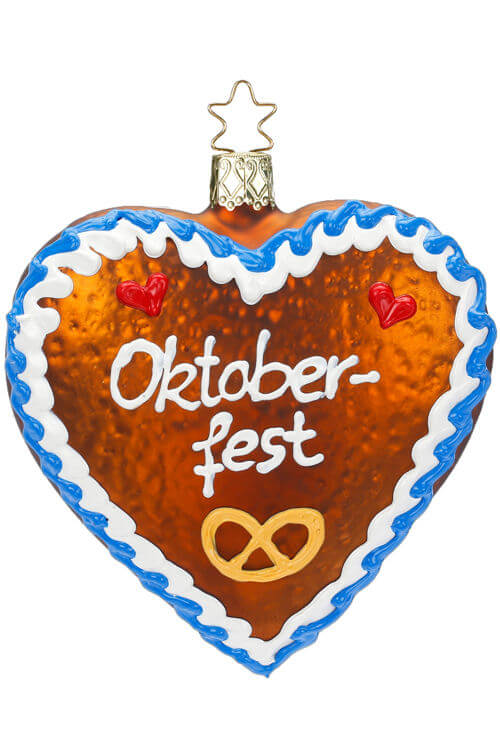 Oktoberfest Gingerhread Heart
