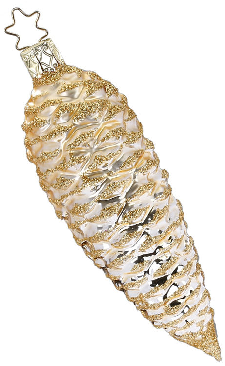 Fir Cone Champagne Shiny