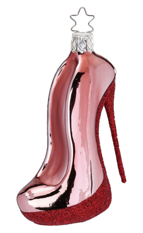 High Heel, Old Pink Shiny