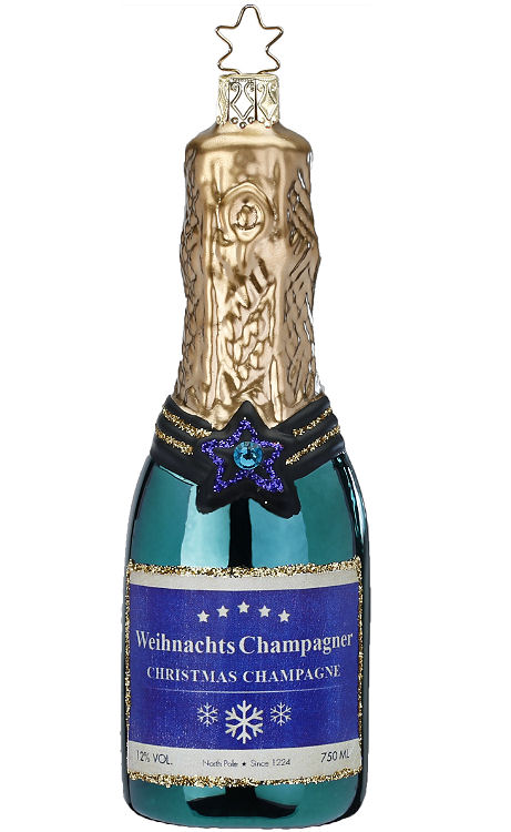 Champagne, Blue Green Shiny