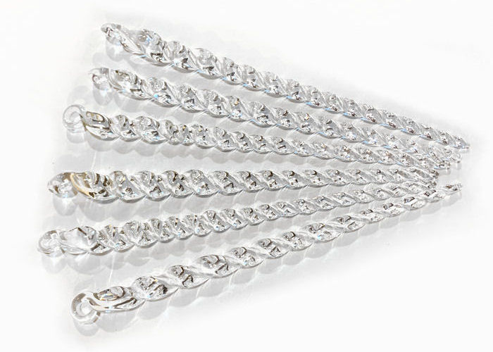 Icicles, Crystal (pack of 6)
