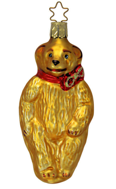 Nostalgic Teddy Bear - Gold