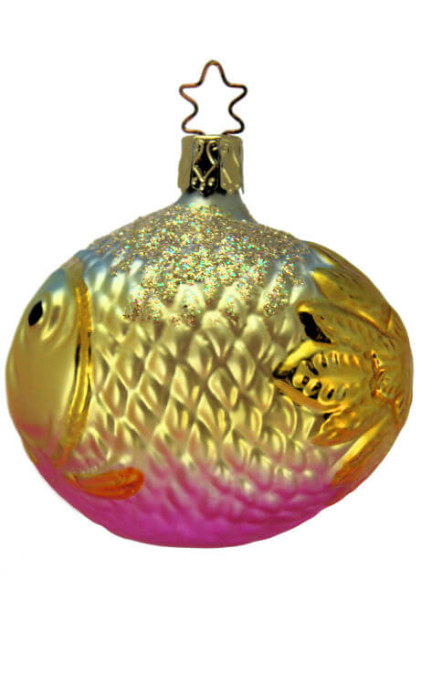 Large Bubble Fish - Pink Gold
