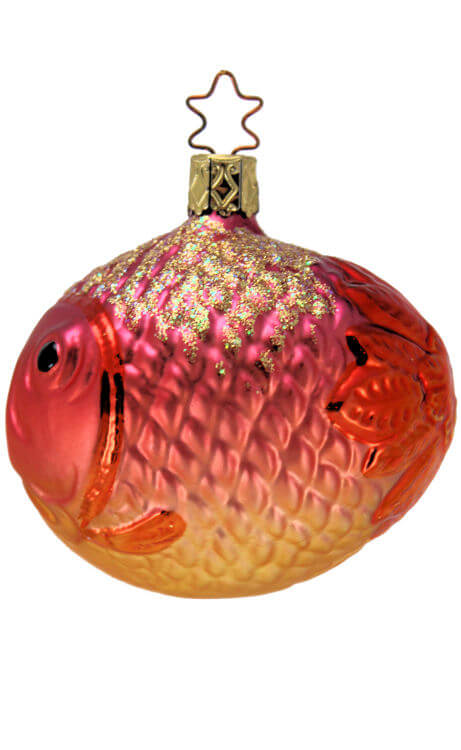 Large Bubble Fish - Pink Orange