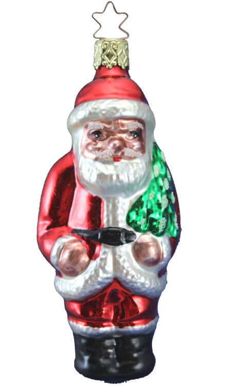 Standing Santa - Heritage Collection