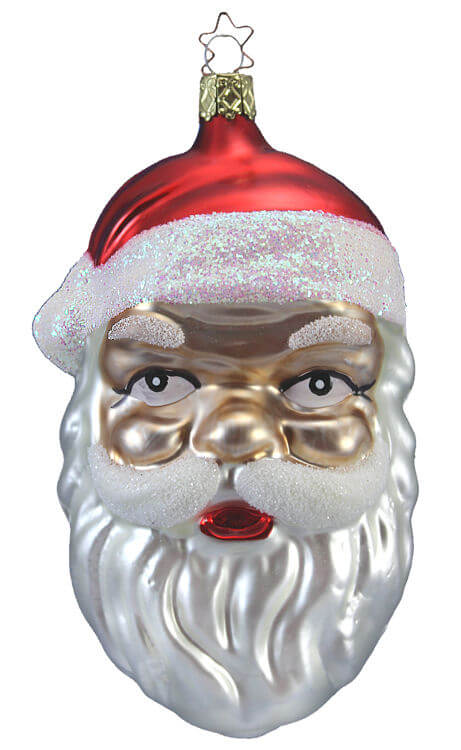 Large Santa Head - Heritage Collection