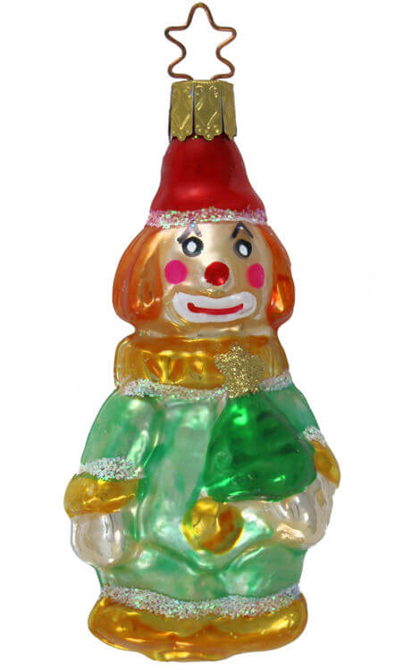 Jolly Christmas Clown